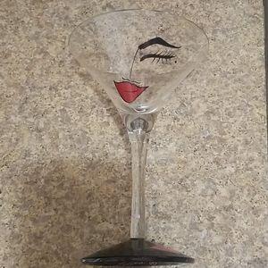 Flirtini glass